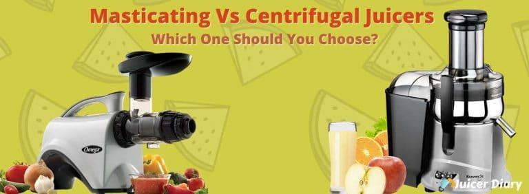 masticating vs centrifugal juicers
