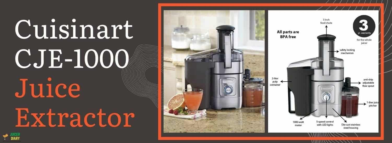 Cuisinart CJE-1000 Juice Extractor Reviews