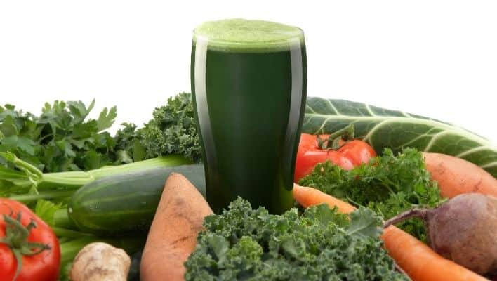 advantages of drinking green vegetable juice