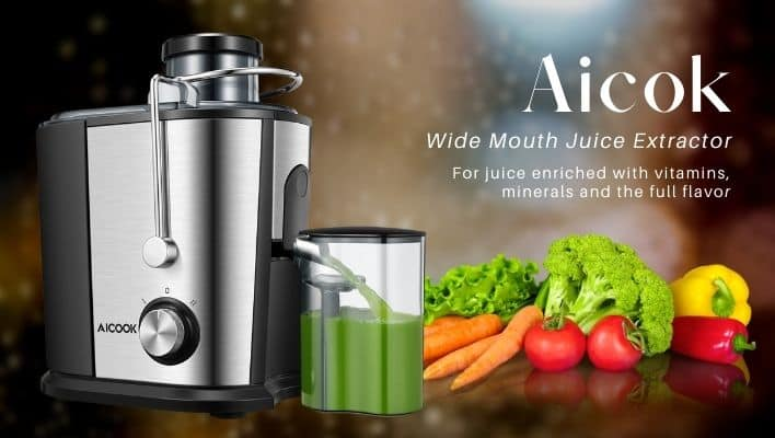 Aicok gs-336 wide mouth juice extractor review