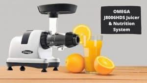 Omega J8006HDS Nutrition Center Juicer